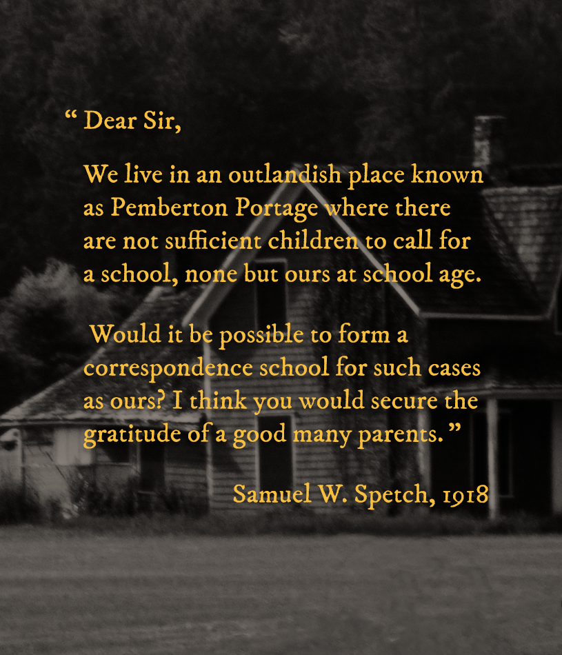 quote from Samuel W. Spetch, 1918